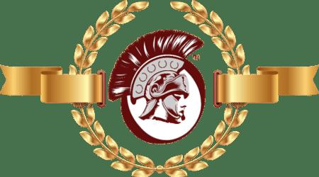 Praetorian Secure Logo with Roman wreath