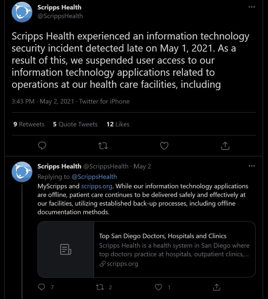 Scripps Health Cyber Hygiene